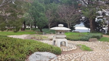 Canberra Nara Peace Park, photo © Tracey M Benson 2020